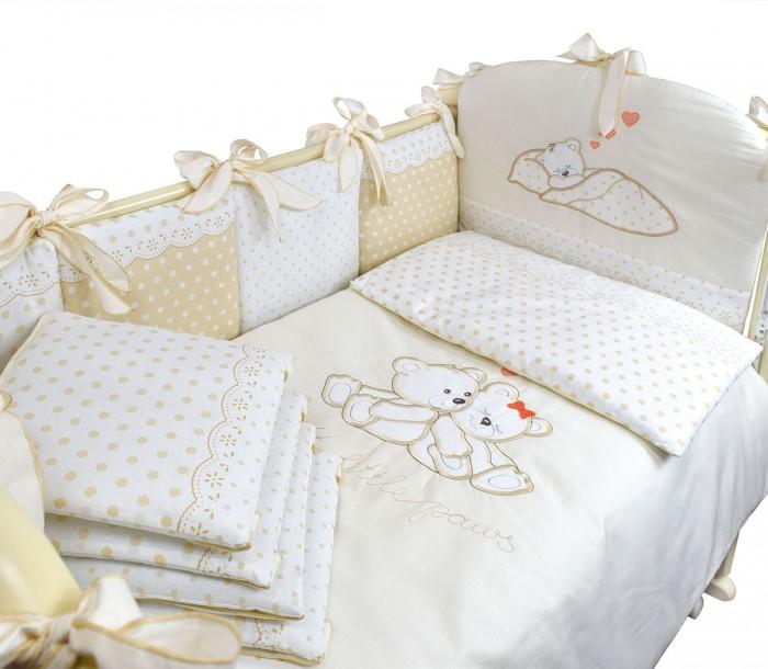Комплект в кроватку Labeille Маленькие лапушки (6 предметов)