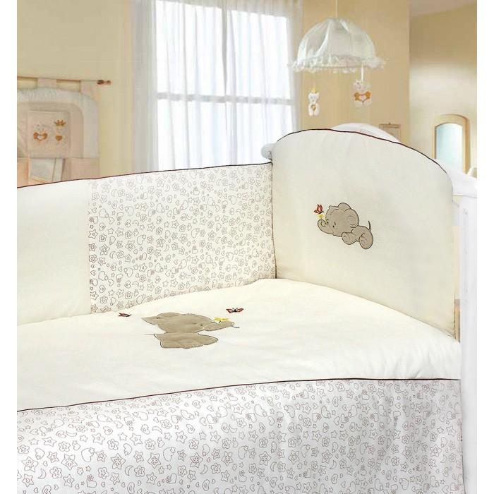 Комплект в кроватку Labeille Favorite Elephant (6 предметов) 5873/6
