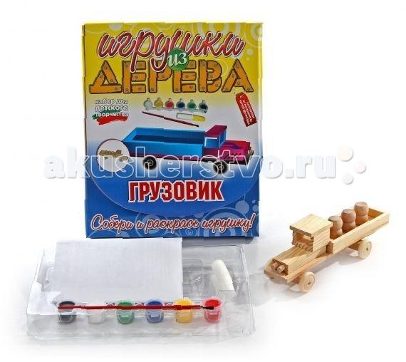 Конструкторы Мир деревянных игрушек (МДИ) Набор для творчества Грузовик готовую баню без сборки
