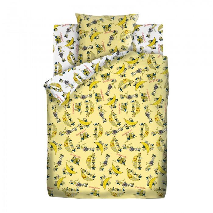 Купить Постельное белье 1.5-спальное, Постельное белье Непоседа Миньоны Бананамания 1.5-спальное (3 предмета)