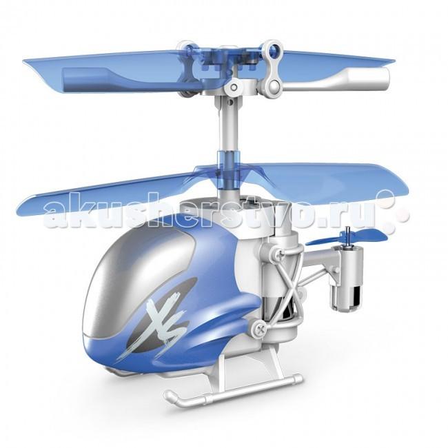 Silverlit Вертолет Нано Фалкон XS (из книги рекодродов Гиннесса)Вертолет Нано Фалкон XS (из книги рекодродов Гиннесса)Silverlit Вертолет Нано Фалкон XS (из книги рекодродов Гиннесса) - настолько маленький, что занесен в книгу рекордов Гиннеса как самый маленький вертолет с гироскопом в мире. Он легко умещается на ладони, ведь его длина всего 8 сантиметров, а высота — 5!  Но даже при небольших размерах этот вертолет послушно ведет себя в воздухе и легок в управлении благодаря встроенному гироскопу, который автоматически выравнивает вертолет, если тот накренится. А трехканальное управление позволяет ему не только подниматься, опускаться и разворачиваться в воздухе, как на вертолетах с двухканальным управлением, но и летать вперед и назад.  Корпус вертолета Nano Falcon сделан из прочного пластика, хвост и лопасти металлические. Он прочный и выдержит удар о стену, потолок или пол.  В вертолете есть встроенный аккумулятор, который можно зарядить от компьютера через USB.  Время зарядки: 30 минут. Время работы: 10-15 минут.  В наборе: вертолет пульт управления usb-кабель инструкция.<br>