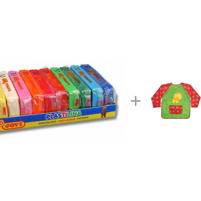 Play-Doh Пластилин 10 цветов по 150 г с фартуком накидка для детского творчества ArtBerry