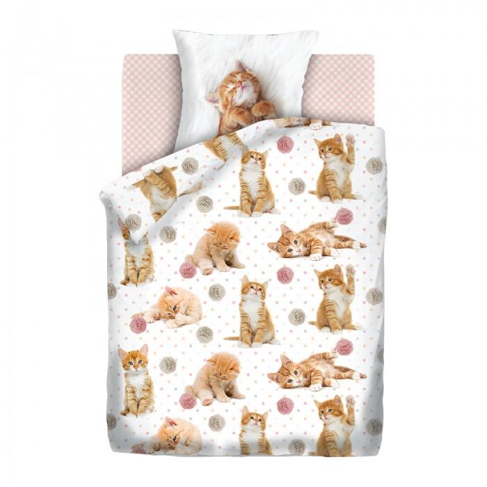 Купить Постельное белье 1.5-спальное, Постельное белье Непоседа For You Fun&Cute Cute kittens 1.5-спальное (3 предмета)