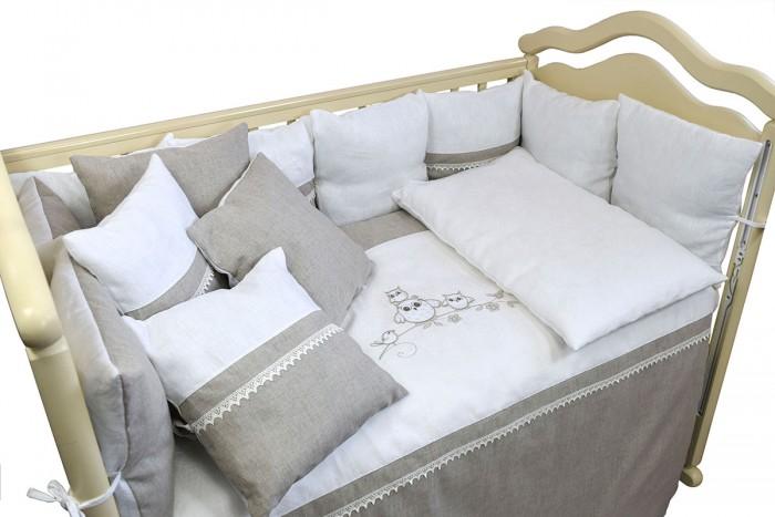 Комплект в кроватку Labeille Льняная сказка (6 предметов) фото