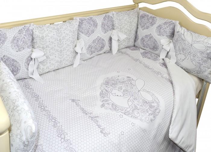 Комплект в кроватку Labeille Sweet heart (6 предметов)