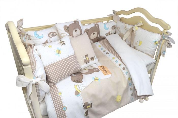 Комплект в кроватку Labeille Малыши (6 предметов) фото
