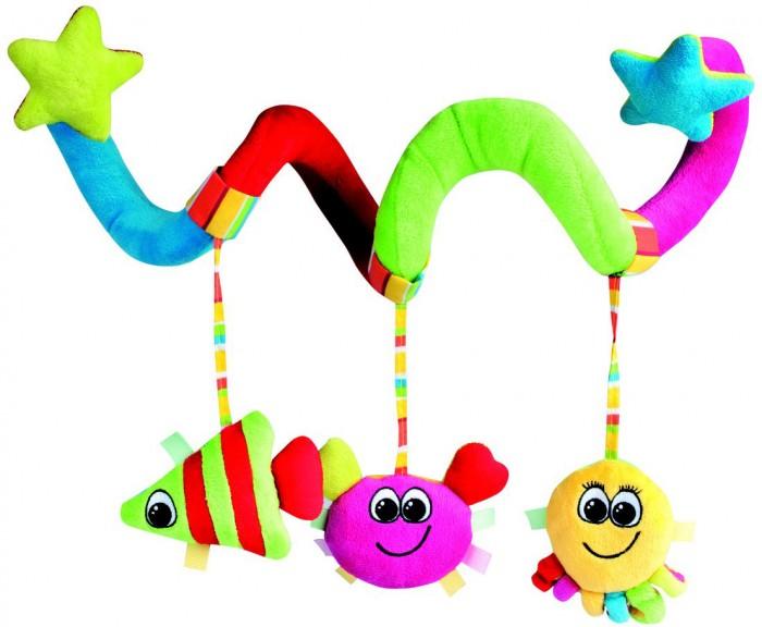 Дуги для колясок и автокресел Canpol Музыкальная погремушка Colorful ocean на коляску, Дуги для колясок и автокресел - артикул:73011