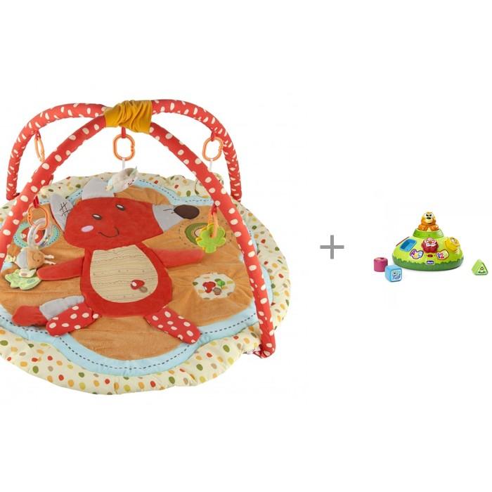 Развивающие коврики, Развивающий коврик ROXY-KIDS с дугами Лисичка и ее друзья + Сортер Крот  - купить со скидкой