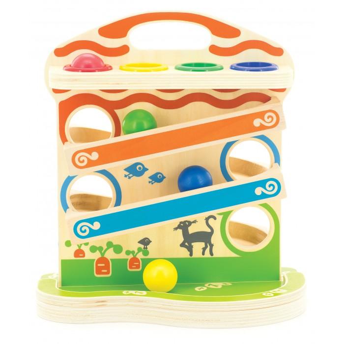 Деревянные игрушки Мир деревянных игрушек (МДИ) Горка-шарики большая деревянные игрушки мир деревянных игрушек мди лабиринт лев