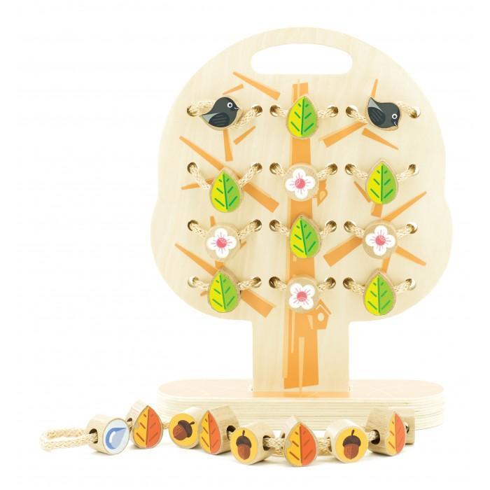 Деревянная игрушка Мир деревянных игрушек Дерево-шнуровка