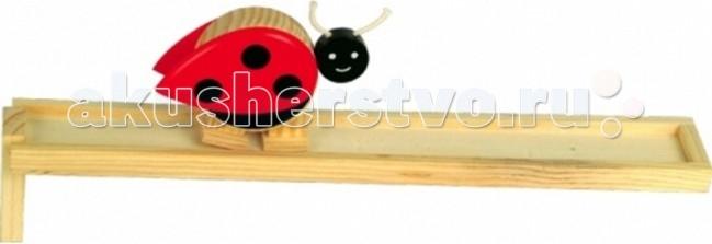 Деревянные игрушки Мир деревянных игрушек (МДИ) Горка Божья коровка деревянные игрушки мир деревянных игрушек мди лабиринт лев