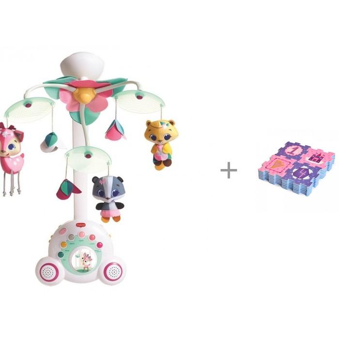 Мобиль Tiny Love Бум-бокс Принцесса + коврик-пазл Сказочная принцесса (24 детали)