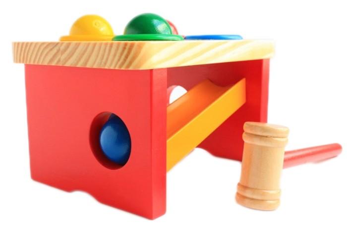 Купить Деревянные игрушки, Деревянная игрушка Мир деревянных игрушек Стучалка-горка-шарики