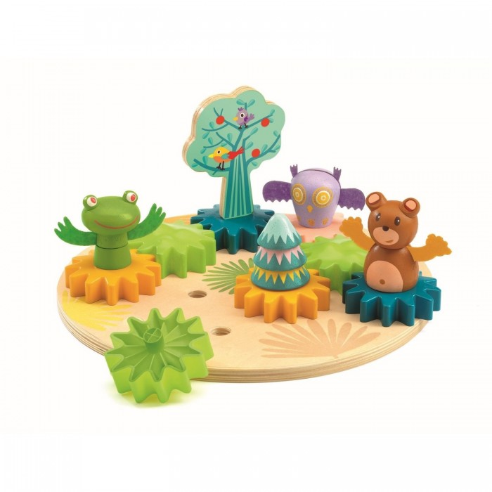 Деревянная игрушка Djeco Развивающая игра Танцы в лесу