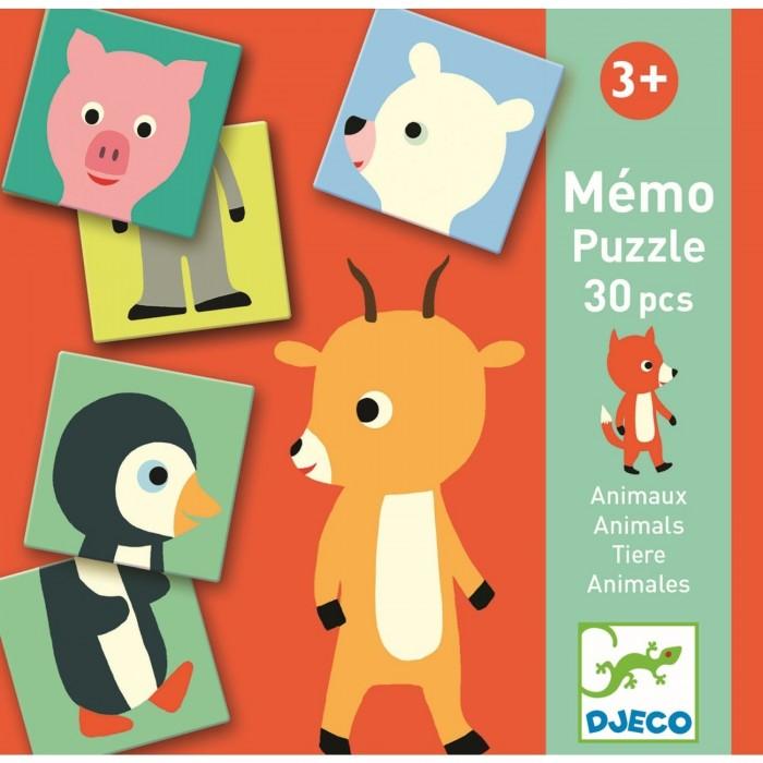 Картинка для Djeco Игра мемо Животные