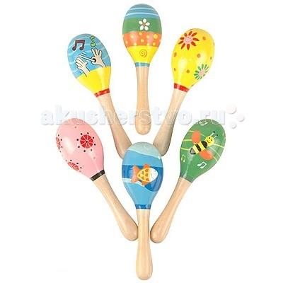 Деревянные игрушки Мир деревянных игрушек (МДИ) Маракас средний деревянные игрушки мир деревянных игрушек мди лабиринт совушка