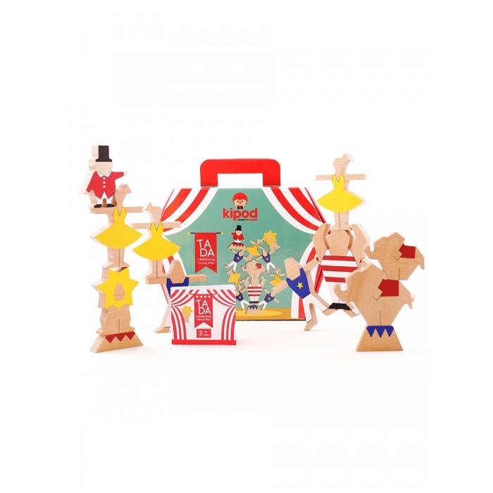 Деревянная игрушка Kipod Toys Набор-балансир Цирковое шоу