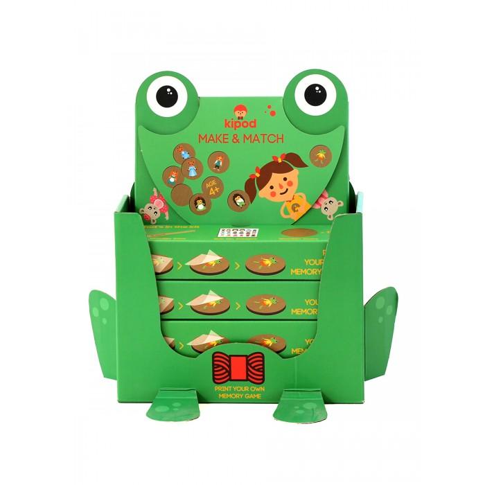 Деревянная игрушка Kipod Toys Мемори-набор Сделай пару