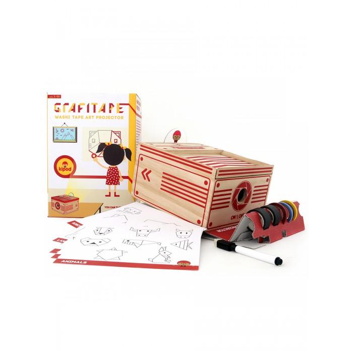 Kipod Toys Деревянный набор Проектор с клейкими лентами