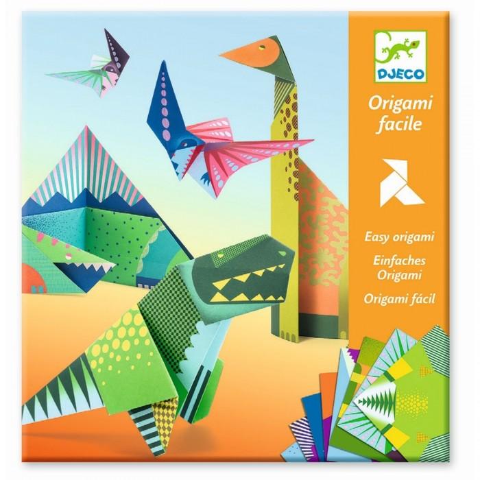 Фото - Наборы для творчества Djeco Оригами Динозавры наборы для творчества djeco оригами полярные животные