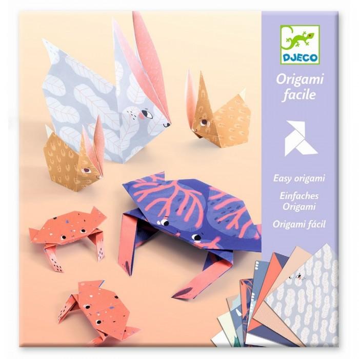 Фото - Наборы для творчества Djeco Оригами Семьи наборы для творчества djeco оригами полярные животные