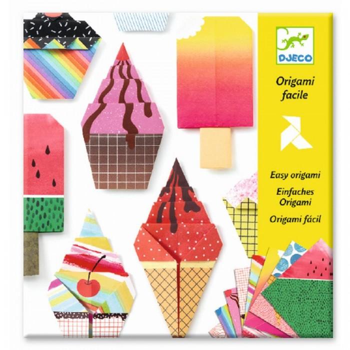 Фото - Наборы для творчества Djeco Оригами Сладости наборы для творчества djeco оригами полярные животные