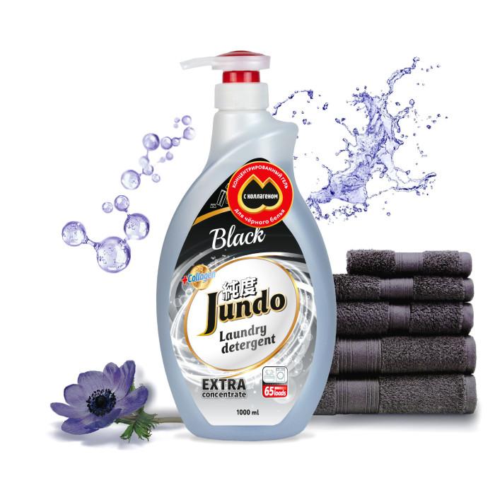 Купить Jundo Black Концентрированный гель для стирки Черного белья 1 л в интернет магазине. Цены, фото, описания, характеристики, отзывы, обзоры