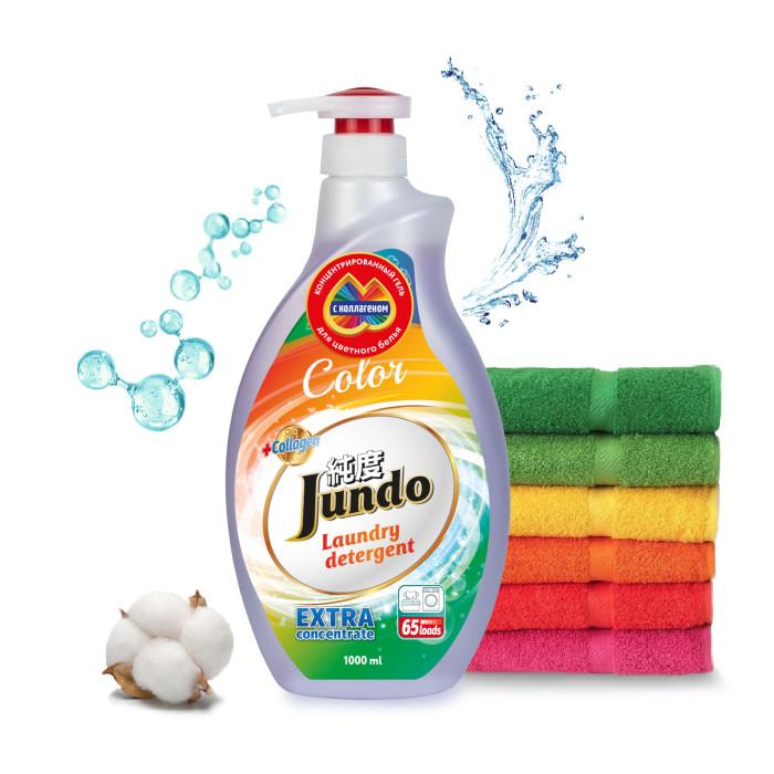 Картинка для Бытовая химия Jundo Color Концентрированный гель для стирки Цветного белья 1 л