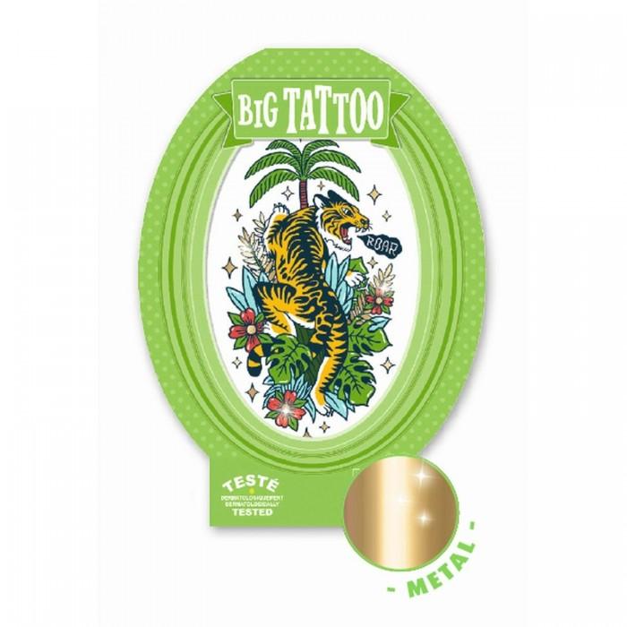Купить Djeco Тату Тигр в интернет магазине. Цены, фото, описания, характеристики, отзывы, обзоры