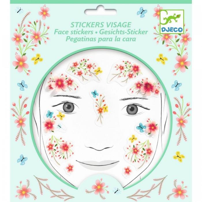 Фото - Товары для праздника Djeco Наклейки для лица Фея наклейки для ткани и кожи unicorn