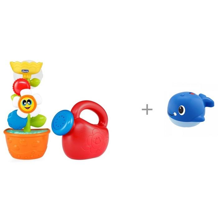 Купить Игрушки для ванны, Chicco Игрушка для ванны Лейка с цветком Bath Flower и Игрушка для ванной Кит