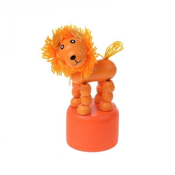 Деревянные игрушки Мир деревянных игрушек (МДИ) Дергунчик Лев деревянные игрушки мир деревянных игрушек мди лабиринт лев