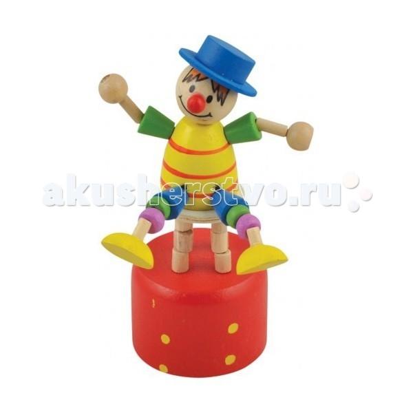 МДИ Дергунчик Клоун на стуле