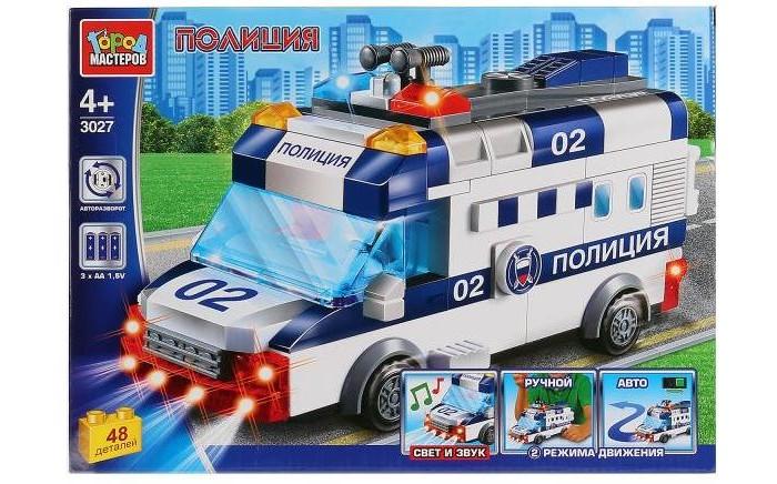 Купить Сборные модели, Город мастеров Полицейская машина 48 деталей