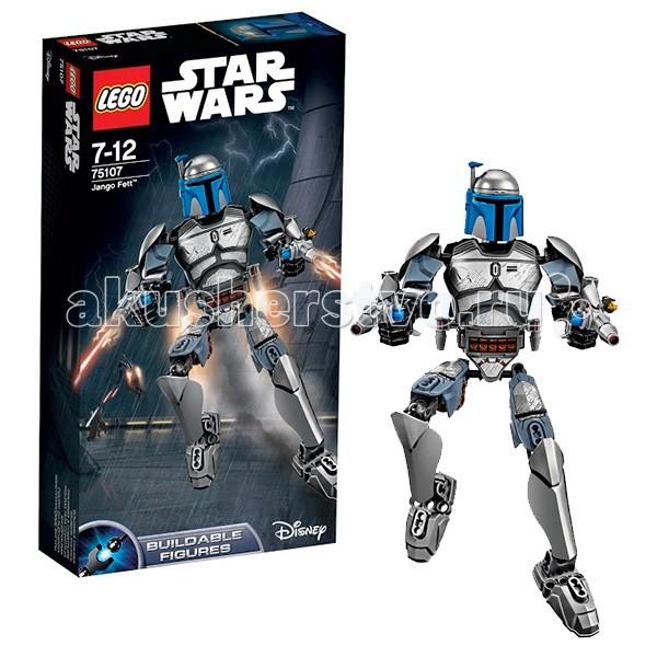 Lego Lego Star Wars 75107 Лего Звездные Войны Джанго Фетт lego lego star wars 75089 лего звездные войны пехотинцы планеты джеонозис