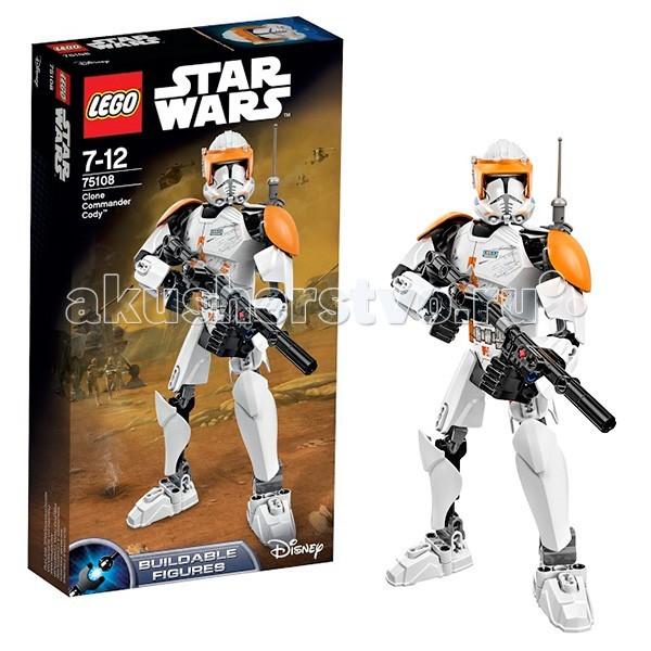 Lego Lego Star Wars 75108 Лего Звездные Войны Клон-коммандер Коди