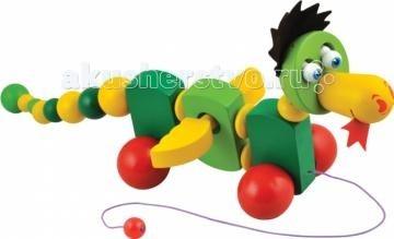 Каталка-игрушка Мир деревянных игрушек (МДИ) Дракончик