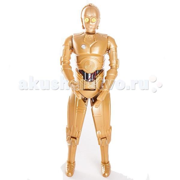 Игровые фигурки Star Wars Bandai Звездные Войны Яйцо-Трансформер Робот C3PO star wars bandai star wars bandai 84630 звездные войны шлем на подставке штурмовик 6 5 см