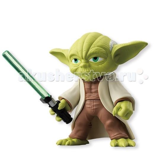 все цены на Игровые фигурки Star Wars Bandai Звездные Войны Сборная модель Фигурка Йода 5 см онлайн