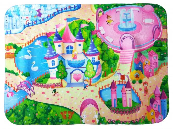 Игровой коврик Teplokid ультрамягкий Принцесса 130х180 см