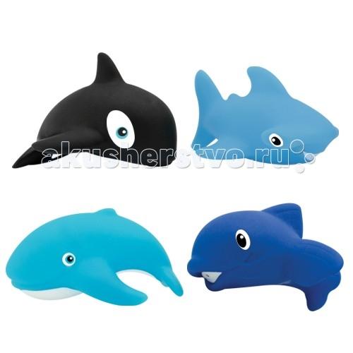 Игрушки для ванны Lubby Набор игрушек для купания Морской мир игрушки для ванны lubby игрушка для купания пеликан