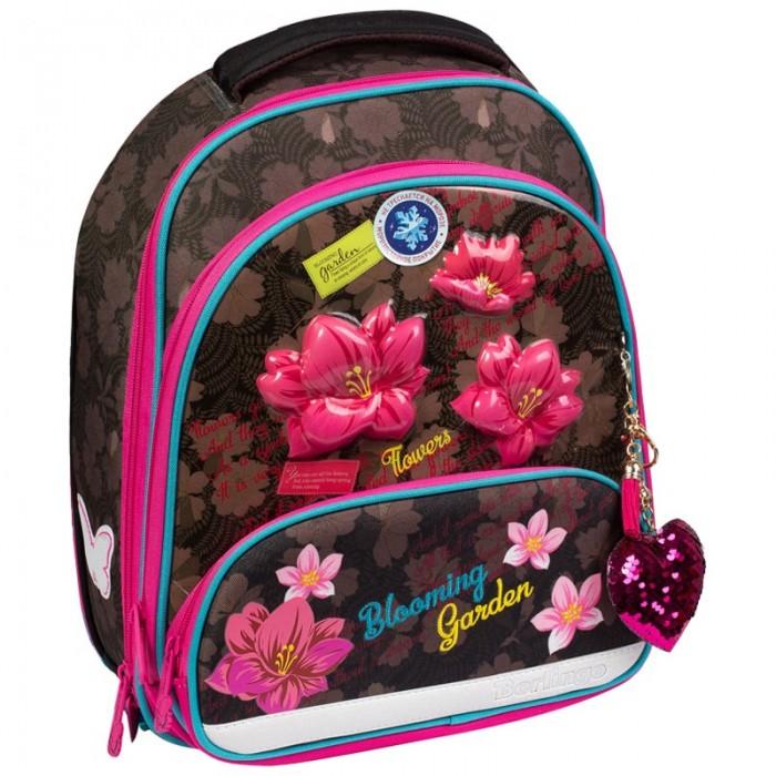 Купить Школьные рюкзаки, Berlingo Ранец Modern Flower style 37x28x21 см