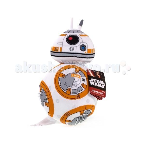 Мягкая игрушка Star Wars Звездные войны Эпизод 7 Дроид BB-8 плюшевый со звуком