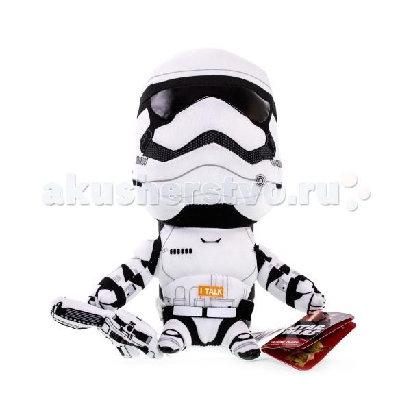 Мягкая игрушка Star Wars Звездные войны Штурмовик плюшевый со звуком