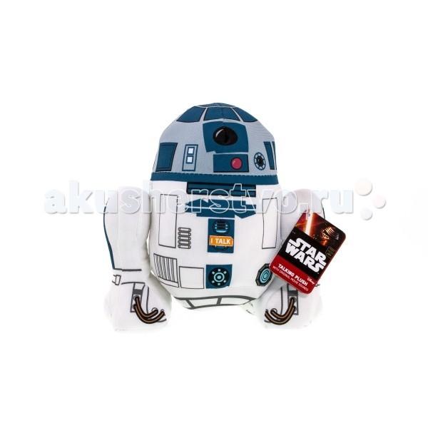 Мягкая игрушка Star Wars Звездные войны R2-D2 плюшевый со звуком