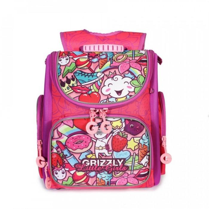 цена на Школьные рюкзаки Grizzly Рюкзак школьный RA-971-5