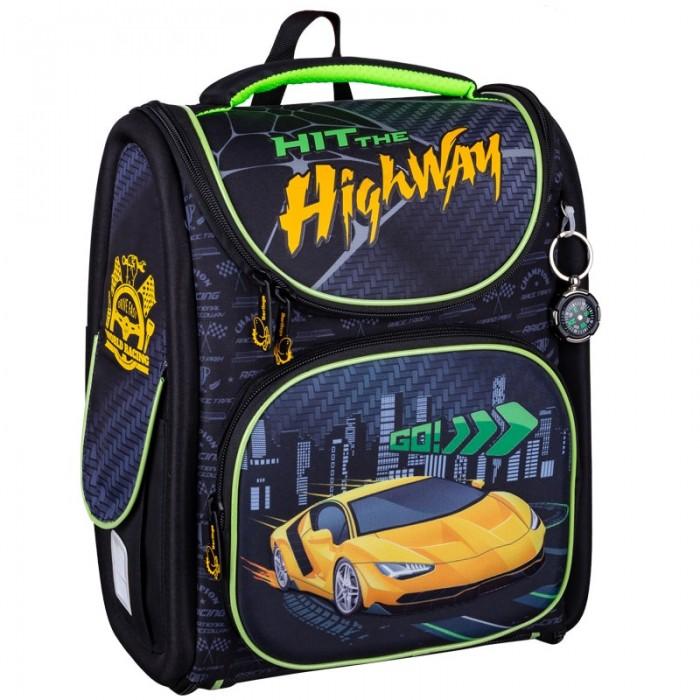 Купить Школьные рюкзаки, Berlingo Ранец с наполнением Ultra Compact Go! 35x30x15 см