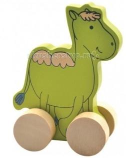 Каталки-игрушки Мир деревянных игрушек (МДИ) Верблюд мир деревянных игрушек развивающая игрушка каталка паровозик