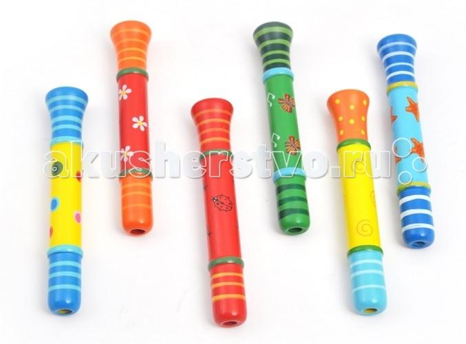 Деревянные игрушки Мир деревянных игрушек (МДИ) Свисток-пищалка деревянные игрушки мир деревянных игрушек мди лабиринт лев