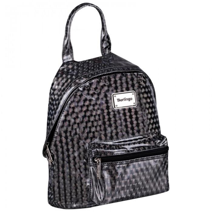 Фото - Школьные рюкзаки Berlingo Рюкзак Glam Style Silver net 31x23x10 см школьные рюкзаки berlingo рюкзак nice paris